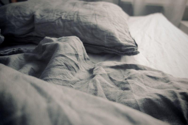 Льняное постельное белье после стирки