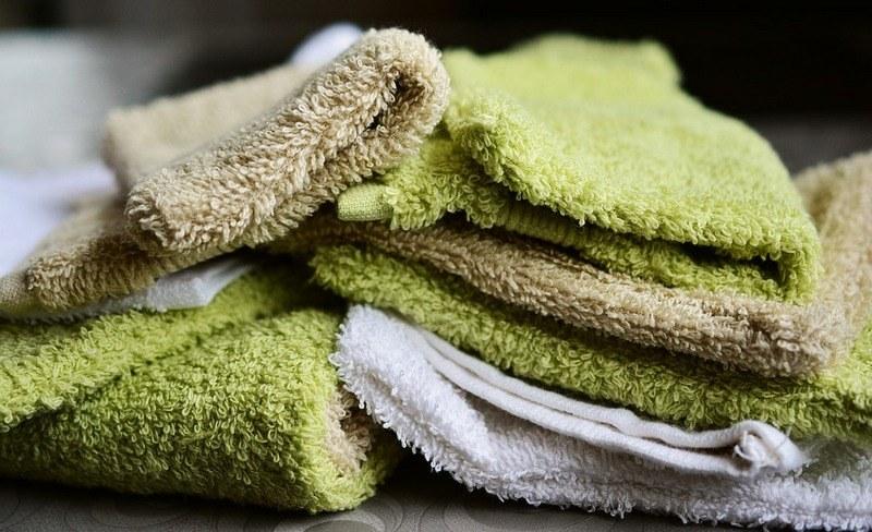 Стирка махровых полотенец вручную дома