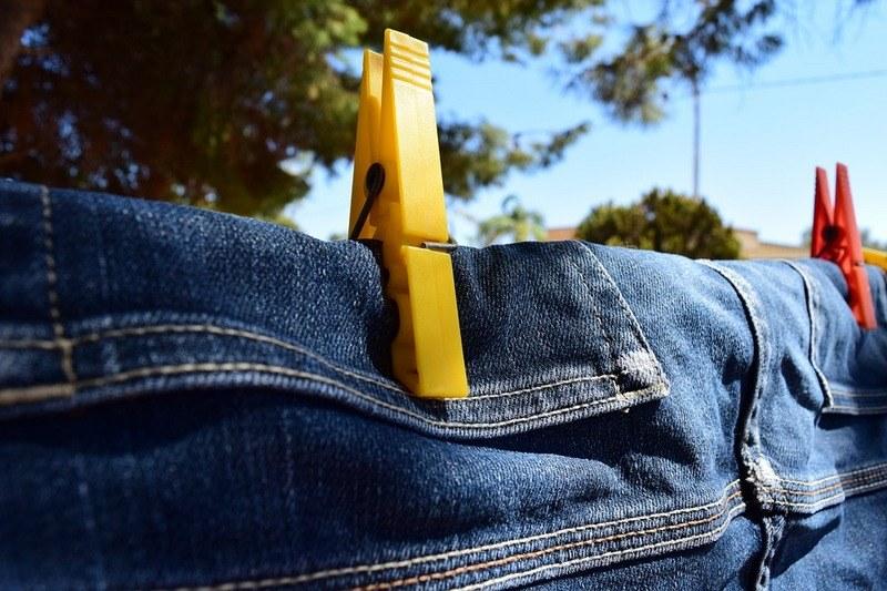Как сушить джинсы чтобы они стали меньше
