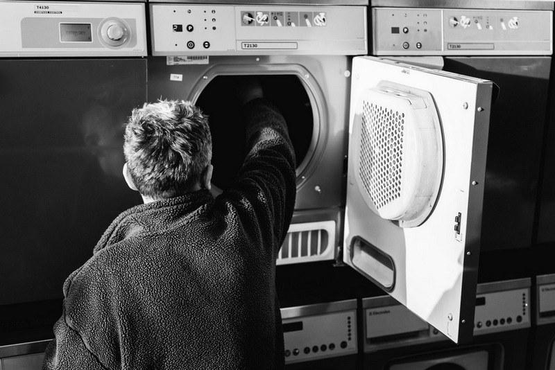 Стирка черных вещей в стиральной машинке