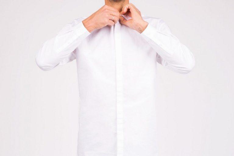 как отбелить рубашку белую в домашних