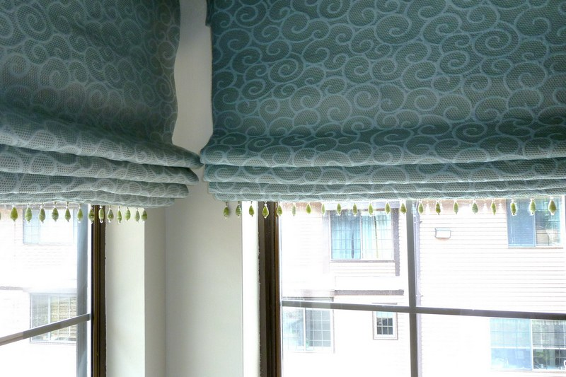 Как стирать римские шторы