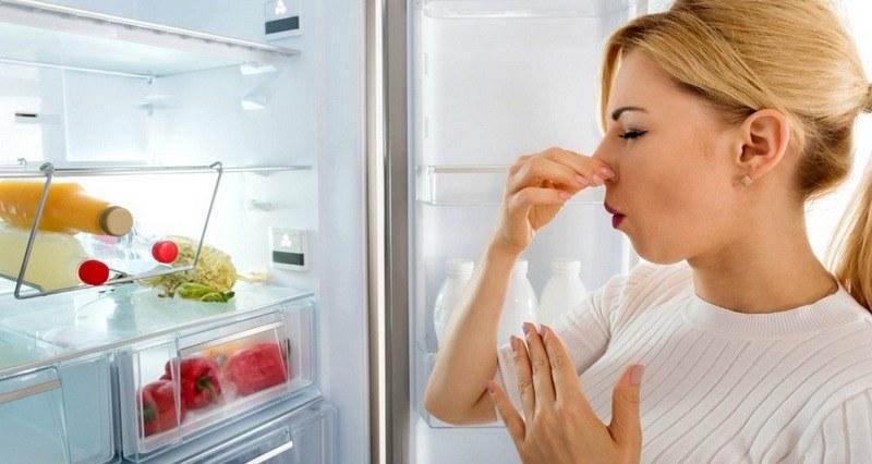 Неприятный запах в холодильнике как устранить